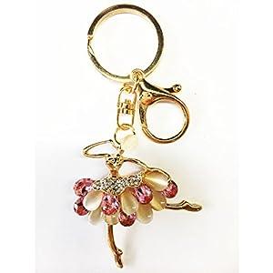 Keychain Handbag Key Ring Car Key Pendant Inlay Rhinestone Key Chain