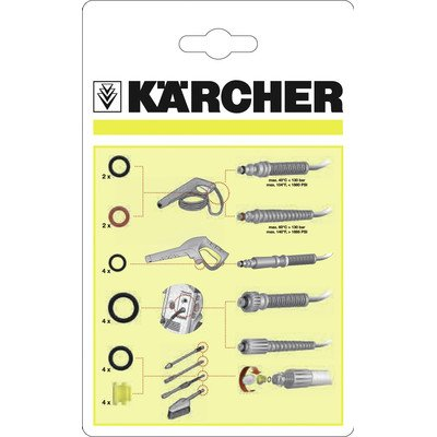 Karcher 2.642-189.0 O-Ring Set for Electric Pressure Washers (Water Wand O-ring)