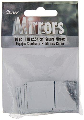 - Darice 10-Piece Square Mirror