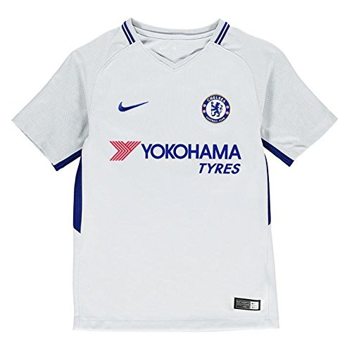 (Nike Youth Breathe Chelsea FC Stadium Jersey [Pure Platinum] (L))