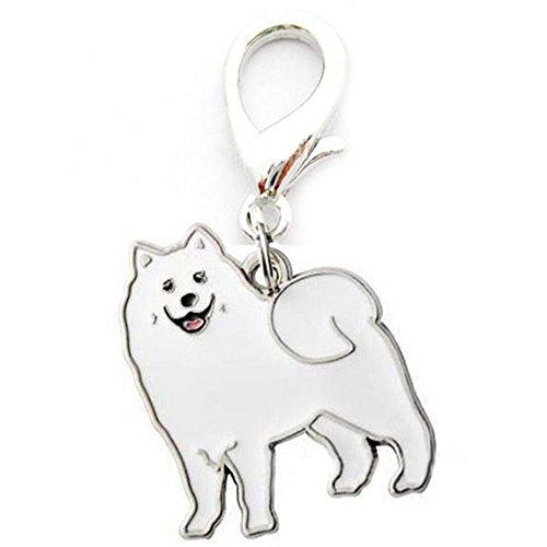 (Metal Dog Key Chain Lovely Puppy Pendant Keyring Keychain Woman Bag Charm Gift)