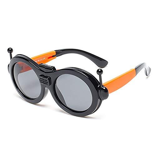 Children Robot Sunglasses Polarized Fold Kids Boy Girl Party Cosplay Sunglasses 3-12 Halloween Teletubbies ()