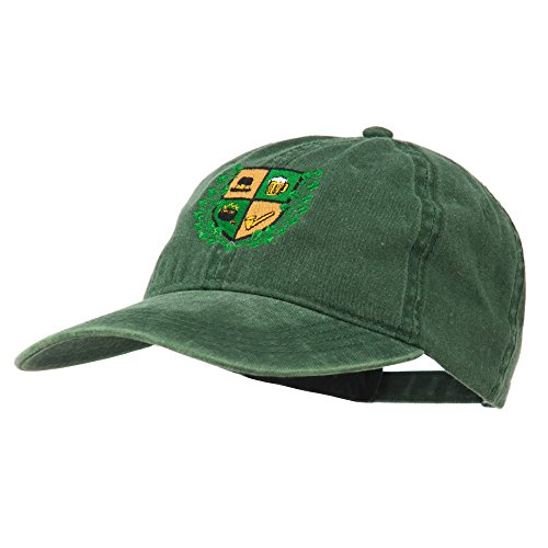 St Patrick's Day Crest Embroidered