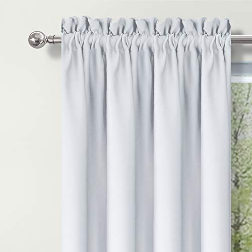 DWCN Blackout Curtains Room Darkening Thermal Insulated Living Window Curtain Panels42 X