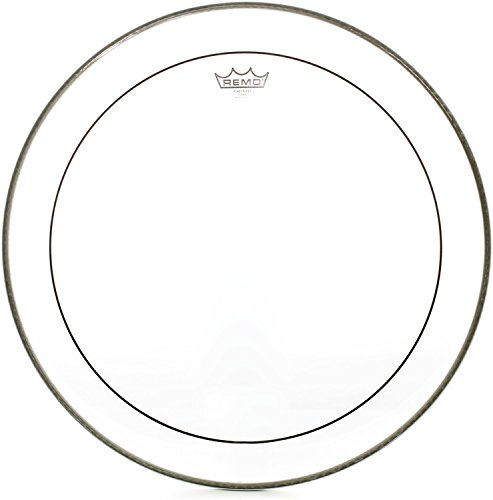 Remo Pinstripe Clear Bass Drum Head - 22 Inch Remo Bass