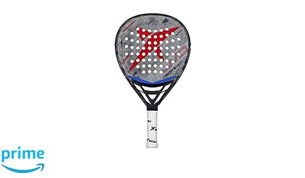 Drop Shot Conqueror 7.0 Professional Padel and Pop Tennis Paddle Racquet (2019 Model)