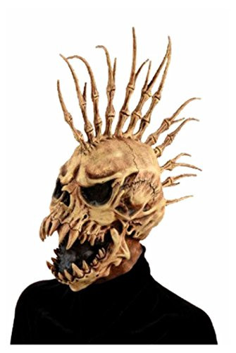Scary Halloween Costume Party Devil Latex Mask Masquerade Demon Skull Face NEW (Devil Face Halloween)