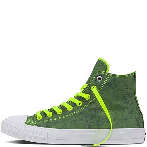 1f9574c7c04 Converse Unisex Adults  Chuck Taylor All Star Ii Reflective Camo Hi-Top  Sneakers
