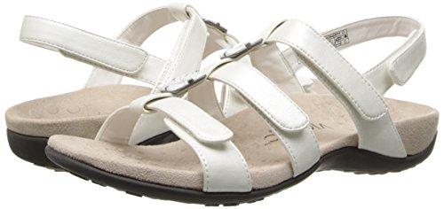 Sandals Amber Riptape White Vionic Womens wYtqx6