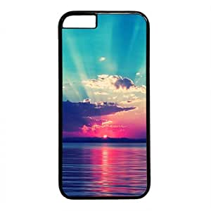 Colorful Sunset Glow Beach View Theme Iphone 6 Case (4.7inch)