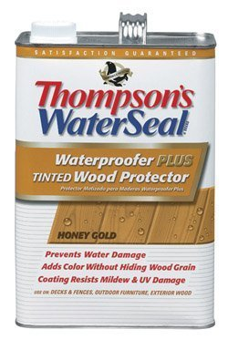 thompsons-th021821-16-waterseal-waterproofer-plus-tinted-wood-protector-1-gallon-honey-gold