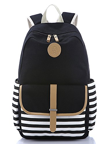 Leaper Cute Thickened Canvas School Backpack