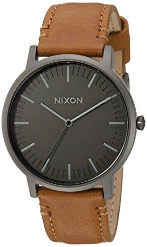 nixon-mens-porter-quartz-metal-and-leather-automatic-watch-colorbrown-model-a10582494-00