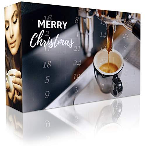 Christbaumkugeln Cappuccino.C T Espresso Adventskalender Mit 2 X 12 Vielfaltigen Sorten Spitzen Espressobohnen Ganze Bohnen Fur Anspruchsvolle Heim Barista
