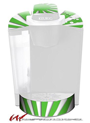 Rising Sun Japanese Green - Decal Style Vinyl Skin fits Keurig K40 Elite Coffee Makers (KEURIG NOT INCLUDED) by WraptorSkinz