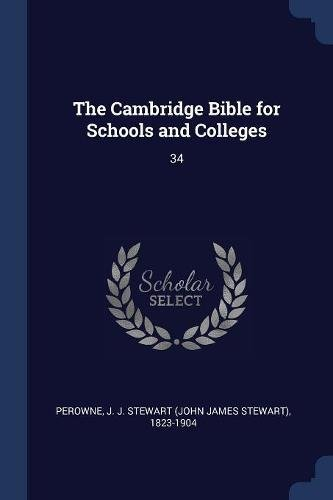 The Cambridge Bible for Schools and Colleges: 34 ebook