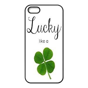Unique Phone Case Pattern 17Irish Flag - Lucky Clovers- For Apple Iphone 5 5S Cases