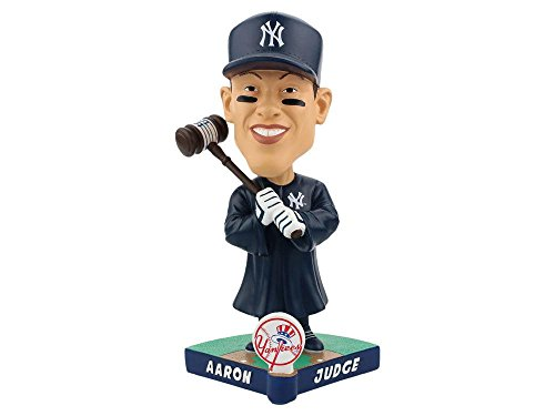 (Forever Collectibles Aaron Judge New York Yankees Limited Edition Caricature Bobblehead MLB)