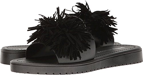 Dirty Laundry by Chinese Laundry Women's Paseo Jelly Slide Sandal, Black PVC, 8 M US