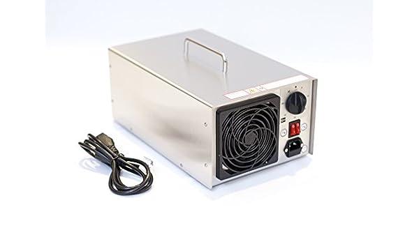 Generador de ozono profesional, 13900 mg/h, 14 g/h, dispositivo de ...