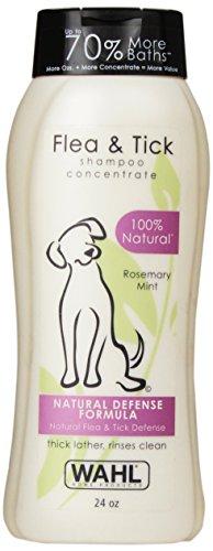 Wahl 100% Natural Pet Flea and Tick Shampoo Rosemary Mint #820007T