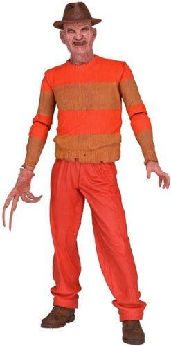 NECA NECA39813 - Nightmare On Elm Street, Action figure di Freddy Krueger (versione videogame del 1989), 18 cm