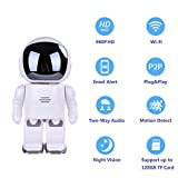 Surveillance Camera 960P HD Intelligent Robot WiFi Camera 1.3MP Night Vision Alarm Audio Security