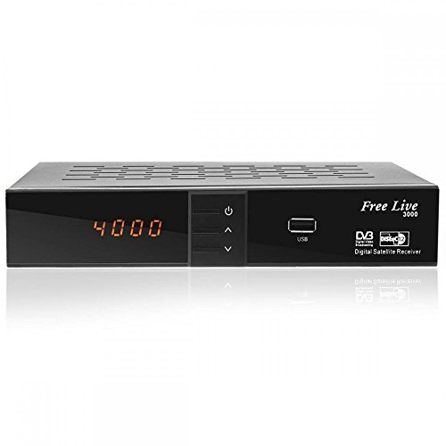 Free Live HD 3000 HDTV Sat Receiver