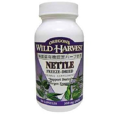 Oregon's Wild Harvest Frz Dried Nettle 1x 90VCAP (Freeze Leaf Nettle Dried)