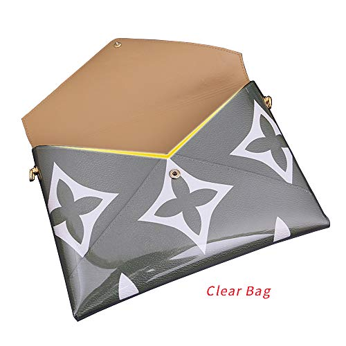 Clear Bag for LV Giant Pochette Kirigami Organizer with Rings (Clear Bag)
