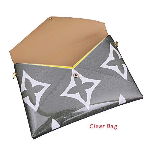 Clear Bag for LV Giant Pochette Kirigami Organizer with Rings (Clear - Monogram Pochette