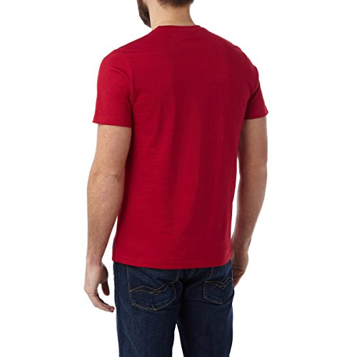 TOG 24 - Henry Mens T-Shirt Northern Blonde Chilli Red - male