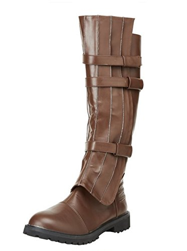 130 (Medium 10-11, Brown) Walker Jedi Superhero Boots for $<!--$63.88-->