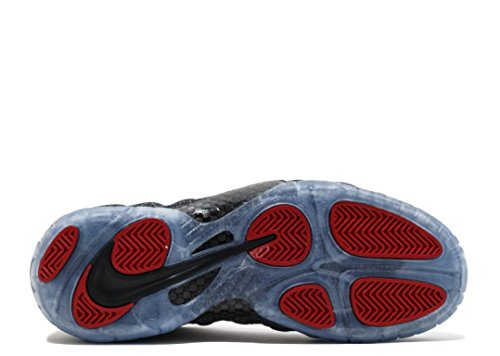 Nike Air Foamposite Pro Männer Basketballschuhe Dk Grey Heather, Schwarz-Schwarz