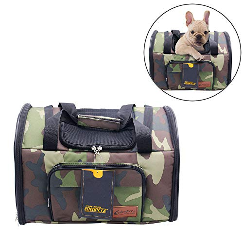 Cheap Youxiang Small Pet Carrier Puppy Shoulder Bag Handbag Car Seat Soft Sided Bag Pet Travel Airline Approved Backpack for Medium Dogs and Cats
