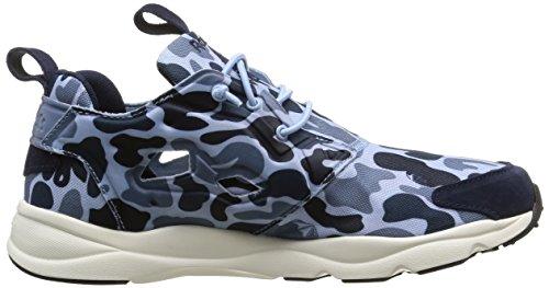 Bleue Camo Slate Peack Reebok Sneaker Denim Herren Furylite IBqwI45WxR