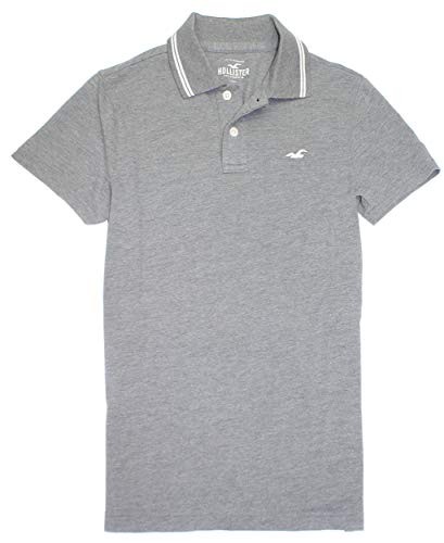Hollister Men's Classic Pique Polo Golf Shirt HOM-2 (Large, 0065-125) ...
