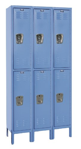 Hallowell U3288-2A-MB Premium Locker, 36