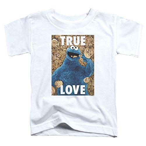 Toddler: Sesame Street- Cookie Monster True Love Baby T-Shirt Size (True Love Tee)