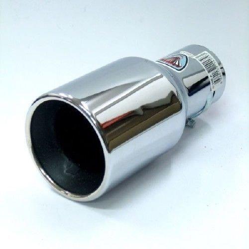 Autohobby 256A Auspuffblende Auspuff Universal Schalld/ämpf Endrohr Blende Edelstahl bis 57mm /Ø Chrom