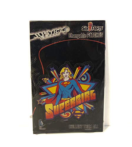 tain DC Comics Collectible Changeable Patches Supergirl ()