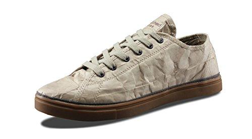 Unstitched Verktyg Mens Nästa Dag Låg Designer Tyvek Mode Sneakers Lt Brun / Dk Brown