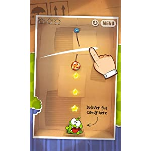 Games Spotlight: Try Cut the Rope For Addictive, Casual Gaming Fun!