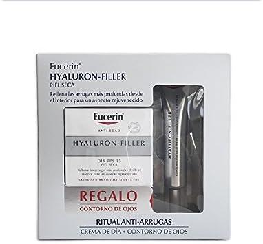 EUCERIN Hyaluron-Filler Día Piel Seca + Contorno de ojos