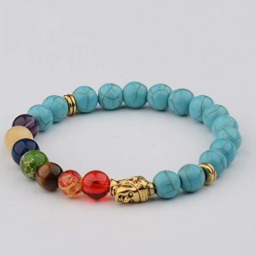 Gatton Fashion 8MM Natural Lava Stone Colorful Beads Charm Hand Beads Beaded Bracelets   Model BRCLT - 41123  