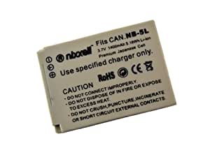 Nixxell Battery for Canon NB-5L CB-2LX and Canon PowerShot S100, S110, SD700 IS, SD790 IS, SD800 IS, SD850 IS, SD870 IS, SD880 IS, SD890 IS, SD900 IS, SD950 IS, SD970 IS, SD990 IS, SX200 IS, SX210 IS, SX220 IS, SX230 HS (Fully Decoded)