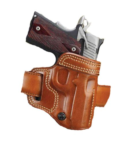 Galco AV266 Avenger Belt Holster for Kimber 1911, Right, Tan