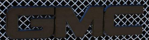 T-Rex 19200B Billet Bolt-On GMC Emblem Black Billet Bolt-...