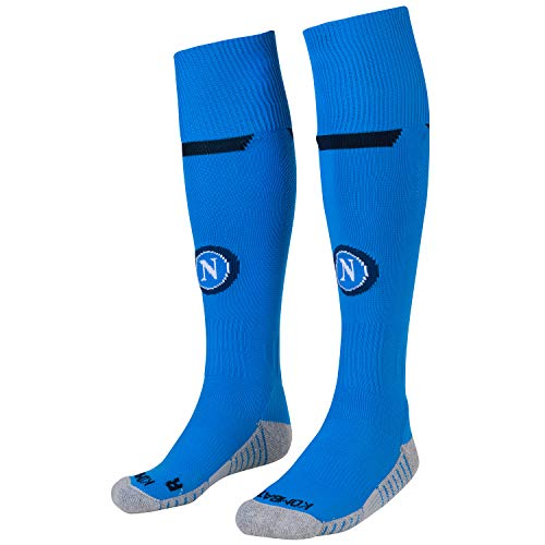 Ssc Napoli Italian Serie A Men's Home Match Socks, SkyBlue, 11