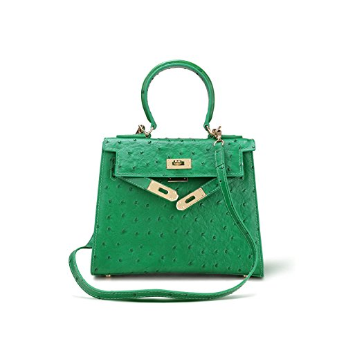 GUANGMING77 _ Borse Borsetta Tracolla Croce Diagonale,Rosa green